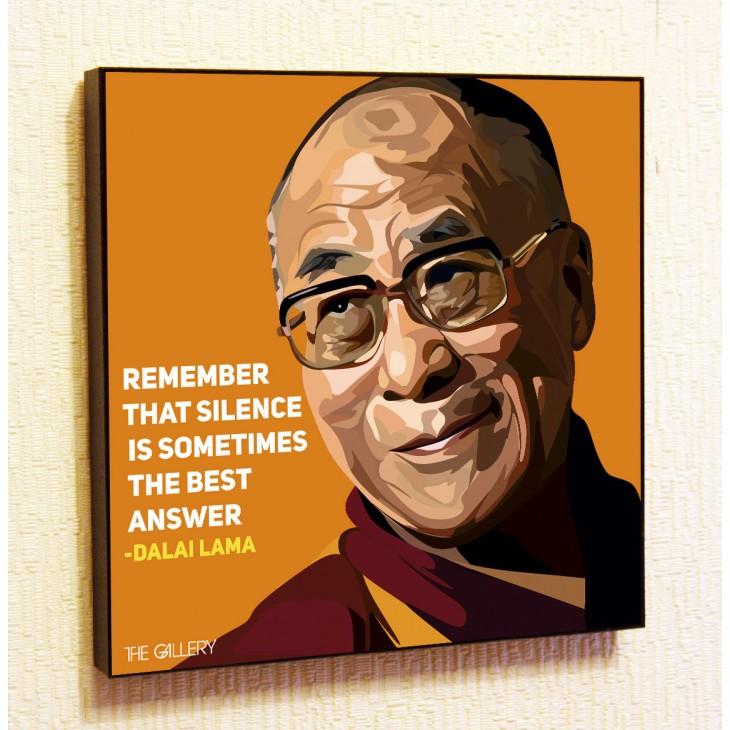 Картина постер в стиле поп-арт Далай Лама