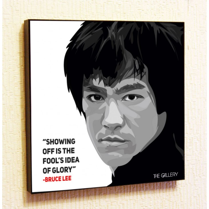Картина постер в стиле поп-арт Брюс Ли